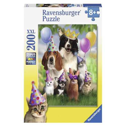 Puzzle Ravensburger Zvířecí párty, 200 dílků XXL