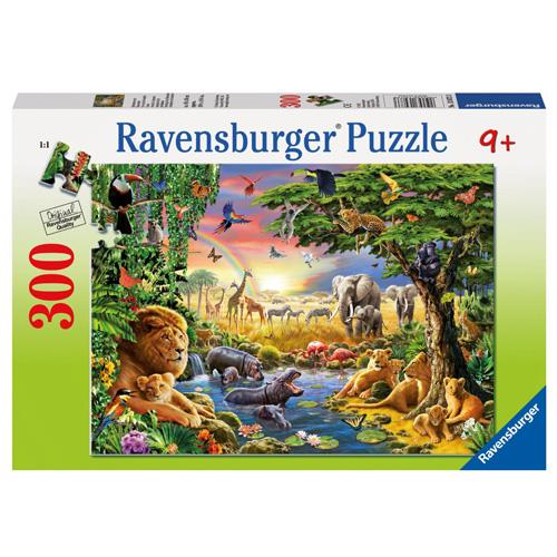 Puzzle Ravensburger U napajedla, 300 dílků