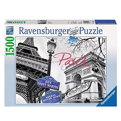 Puzzle Ravensburger Paříž, 1500 dílků