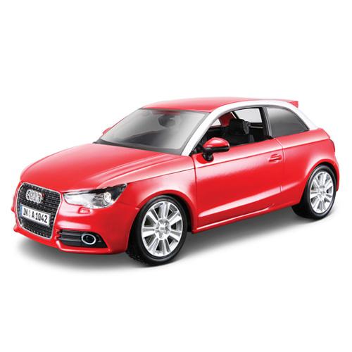Auto Bburago Audi A1, červené