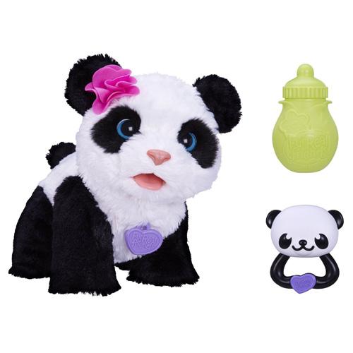 Panda Hasbro Pom Pom - interaktivní, plyšová
