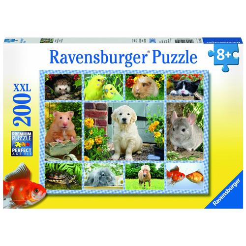 Puzzle Ravensburger Moje první domácí zvíře 200d