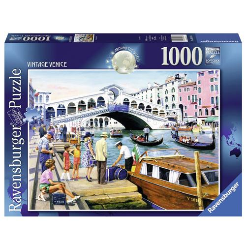 Puzzle Ravensburger Prastaré Benátky, 1000 dílků