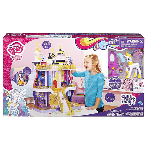 Hrad My Little Pony Hasbro Hrad Canterlot - s Celestou