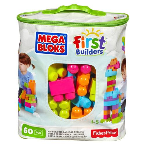Mattel Kostky Mega Bloks 60 ks - stavební kostky