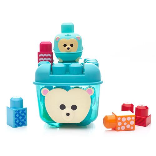 Mattel Kostky Mega Bloks 14 ks - ježkova schovka