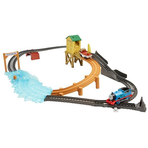 Lov pokladu Mattel Mašinka s tratí