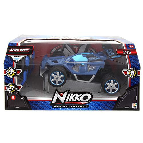 Auto na dálkové ovládání Nikko Alien Panic, barva modrá