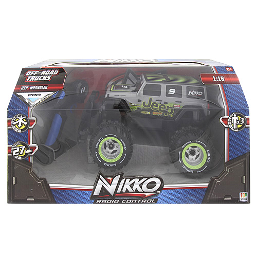 Auto na dálkové ovládání Nikko Jeep Rubicon