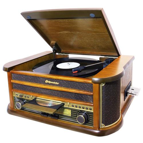 Retro gramofon Roadstar 4,65kg, retro, doprava zdarma