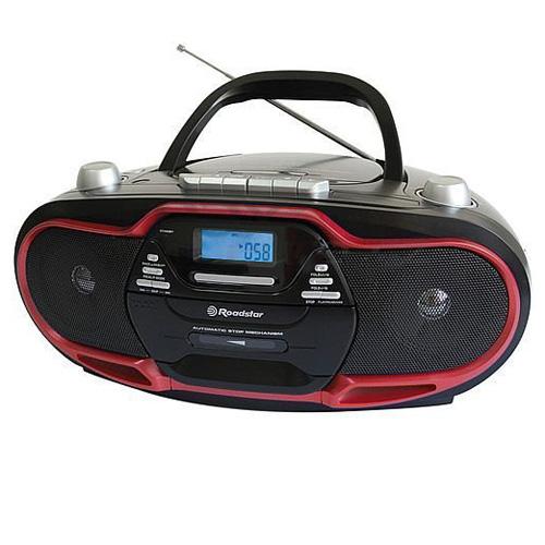 Radiomagnetofon Roadstar RCR-4730U/RD, s červeným lemováním
