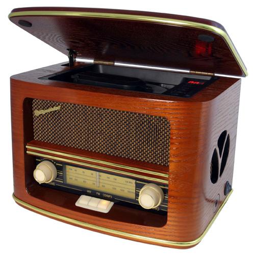 Retro rádio Roadstar HRA-1500MP, retro, doprava zdarma