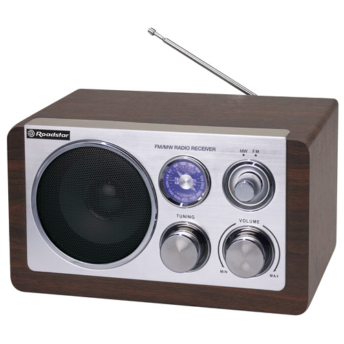 Retro rádio Roadstar HRA-1200W, 1,2 W
