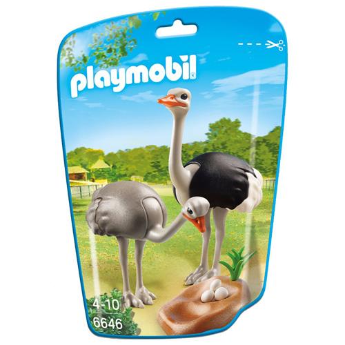 Pštrosi s hnízdem Playmobil Zoo
