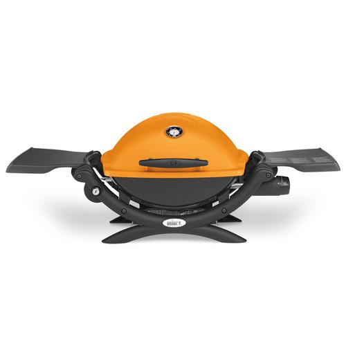 Plynový gril Q 1200 Weber Q 1200, oranžový