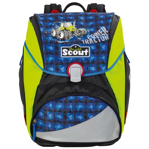 Školní batoh Scout Power Tractor