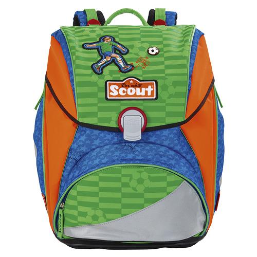 Školní batoh Scout fotbalisté