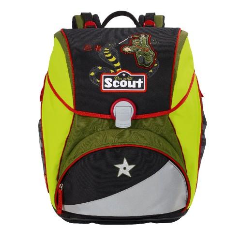 Školní batoh Scout Ninja a had