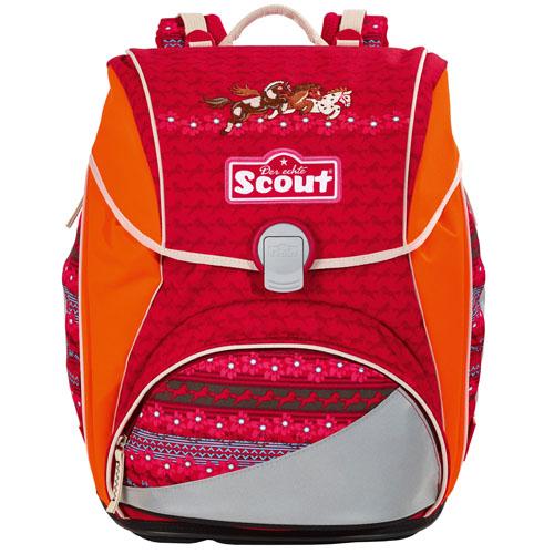 Školní batoh Scout tři koníci