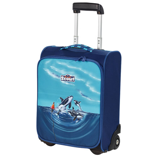 Kufřík na kolečkách Scout oceán