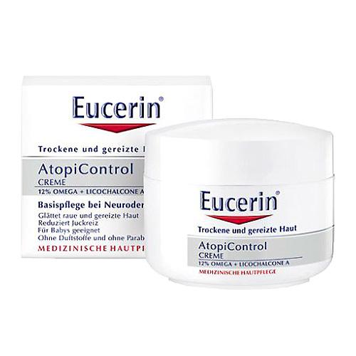 Tělový krém Eucerin AtopiControl, 75 ml
