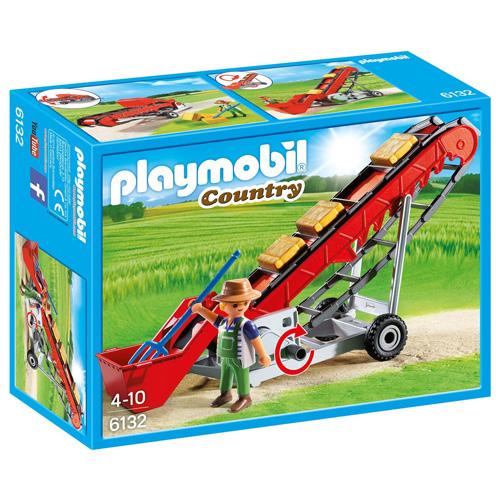 Pásový dopravník Playmobil panáček s doplňky, 67 dílků