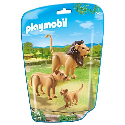 Lví rodinka Playmobil 3 figurky
