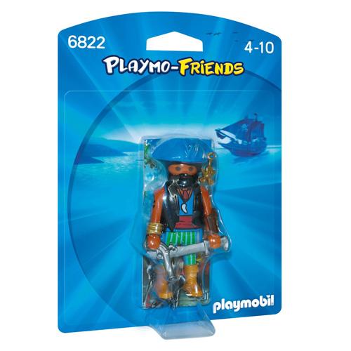 Karibský pirát Playmobil panáček s doplňky, 7 dílků