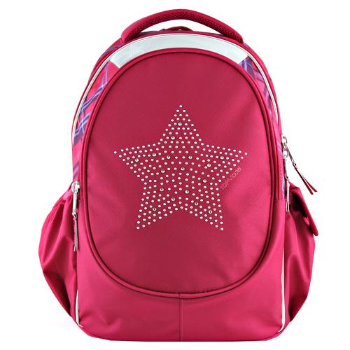 Školní batoh Top Model Růžový s hvězdou