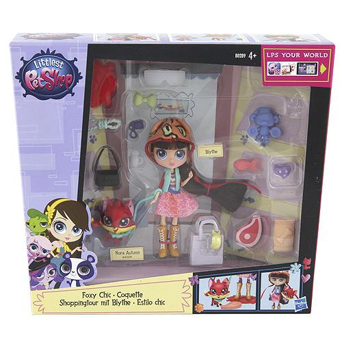 Set Littlest PetShop Hasbro Blythe a její přátelé