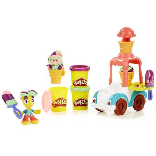 Set Play-Doh Hasbro Zmrzlinářské auto, 168 g