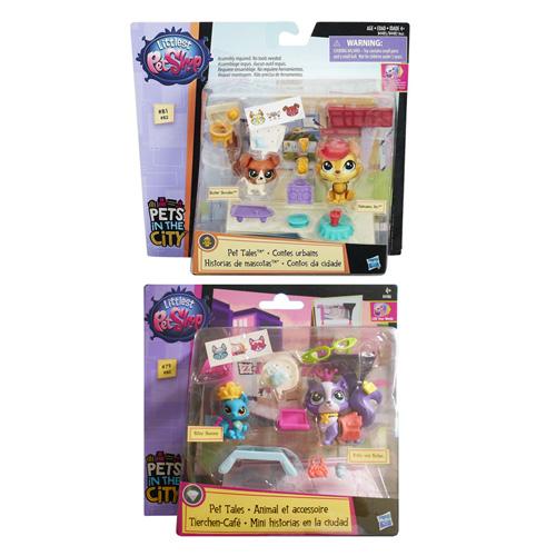 Set Littlest PetShop Hasbro Obchodní pasáž - herní set Littlest Pet Shop s postavičkami