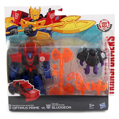 Transformer a Mini-Con Hasbro Optimus Prime & Bludgeon