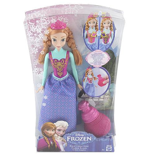 Panenka Disney Mattel Anna - princezna s parfémem