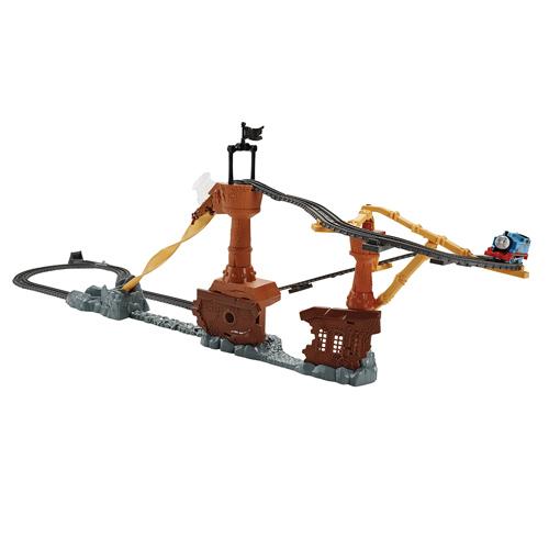 Lodní vrak Mattel Mašinka s tratí