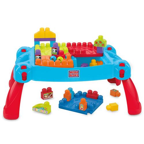 Mattel Hrací stůl Mega Bloks Pracovna malého stavitele