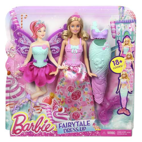 Barbie Víla Mattel S pohádkovými oblečky