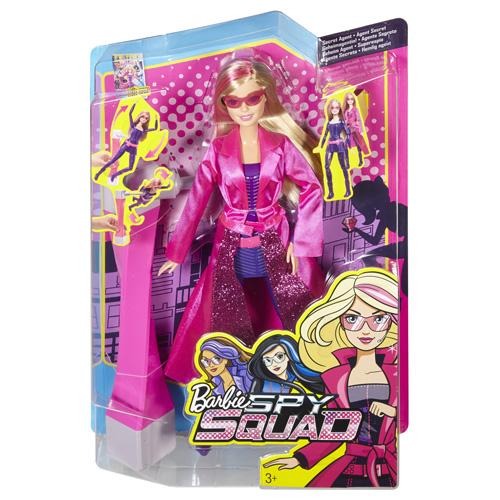 Barbie Tajná agentka Mattel Panenka Barbie