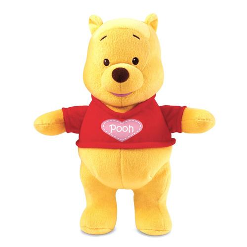 Medvídek Pú Mattel Líbající - plyšová hračka, 25 cm