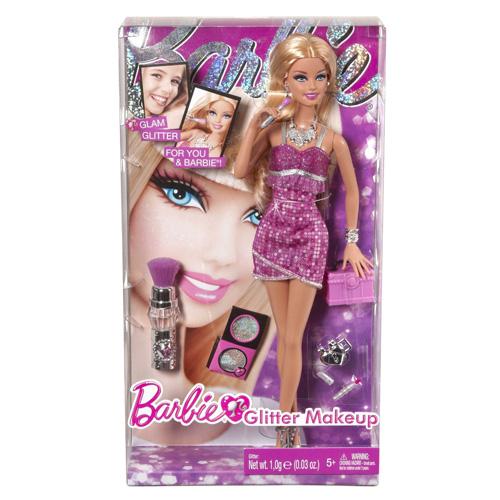 Barbie parádnice Mattel S make-upem