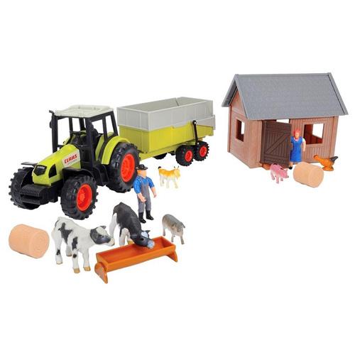 Set farma s traktorem Dickie 23 dílků
