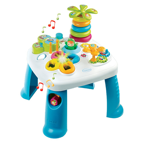 Hrací stůl Smoby Modrý s postavičkami Cotoons