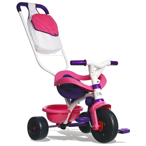 Tříkolka Smoby Be Move Confort růžovo-fialová