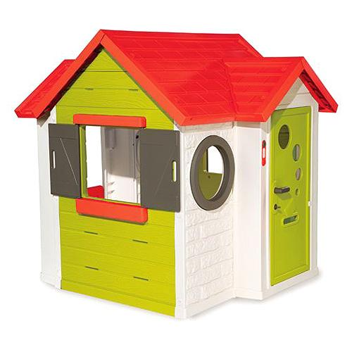 Domeček Smoby My House - plastový, na zahradu, doprava zdarma