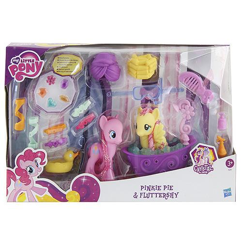 My Little Pony Hasbro Pinkie Pie a Fluttershy v koupelně