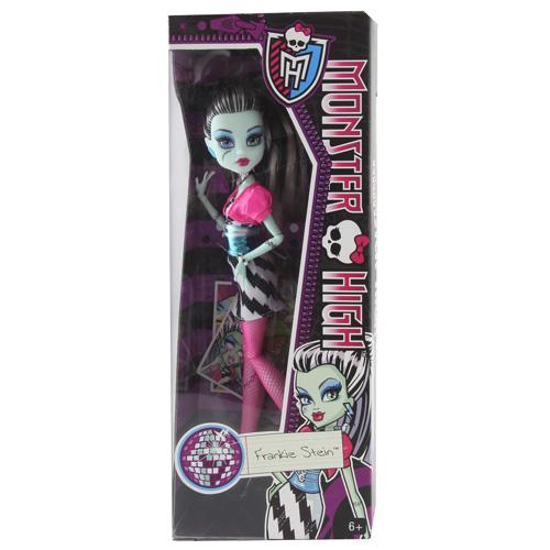 Monster High příšerka Mattel Frankie Stein - párty příšerka