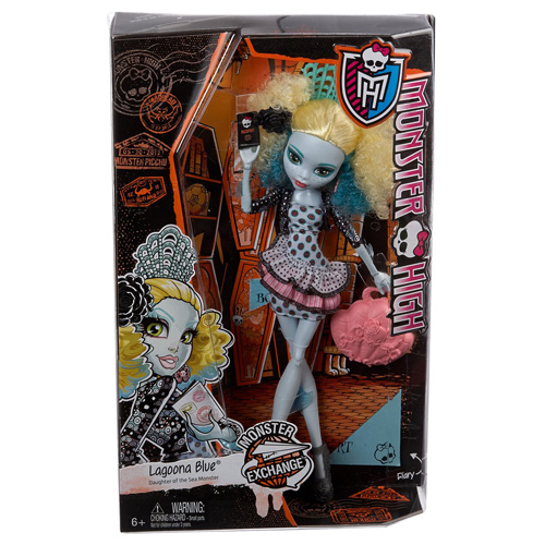 Monster High příšerka Mattel Lagoona Blue
