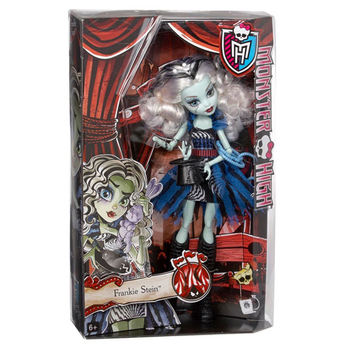 Monster High příšerka Mattel Frankie Stein