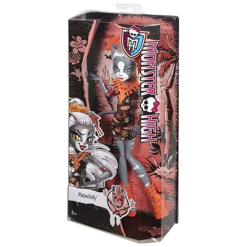 Monster High příšerka Mattel Meowlody