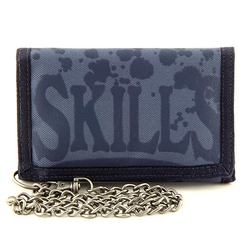 Peněženka 7Skills Modrá s řetízkem